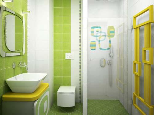 Плочки за баня ефектни идеи за пода
